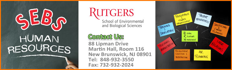 Photo: Office of Human Resources Home Page - SEBS - Rutgers